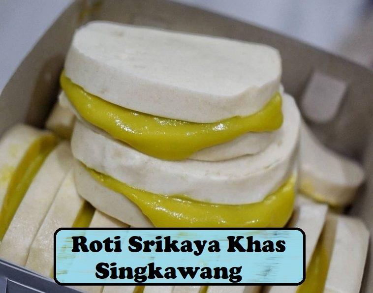 Roti Srikaya Khas Singkawang