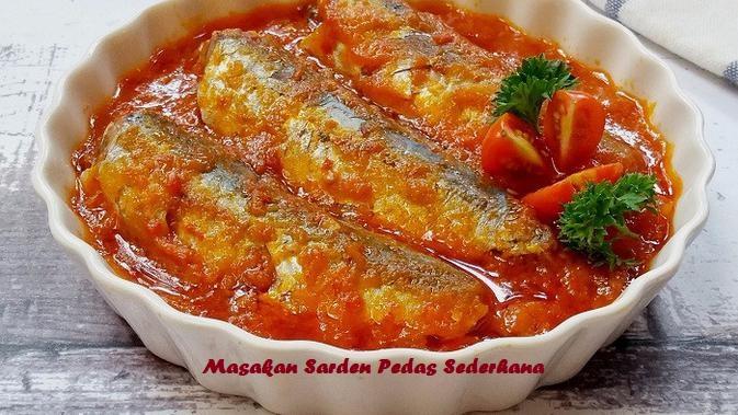 Masakan Sarden Pedas Sederhana