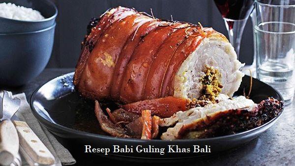Resep Babi Guling Khas Bali