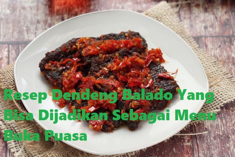 Resep Dendeng Balado